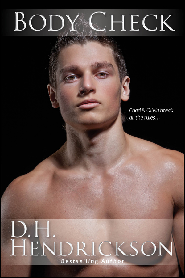 Body Check, a hockey romance by D. H. Hendrickson